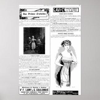 Tryck för Les Dessous elegantsida