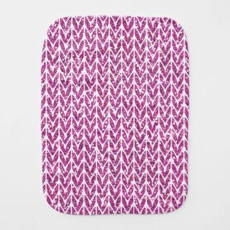 Tryck för mönster för sticka för bebistrasa