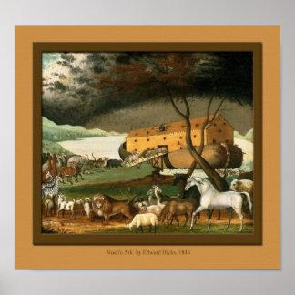 Tryck för rum för ungar för Noahs arkkonst Posters