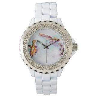 Tryck för skymningdansareHummingbird Armbandsur