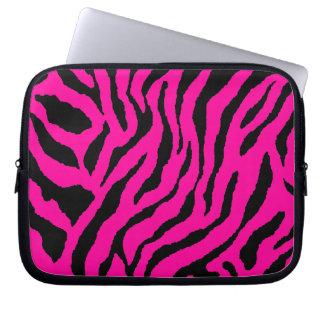 Tryck för tiger för neon för Corey tiger80-tal Laptopskydd Fodral