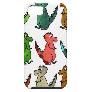 Tryck för vattenfärgT-Rex Dinosaur iPhone 5 Hud