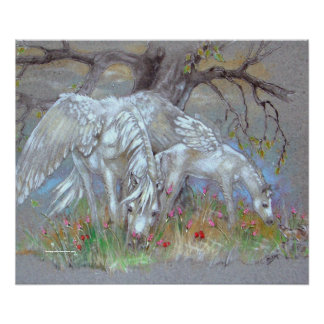 TRYCK - Pegasus mor & föl