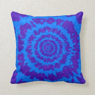 Trycket för blått- & lilaTiefärg kudder Kudde