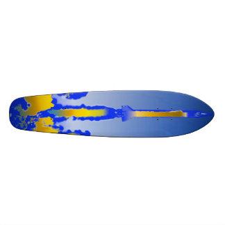 Tryckvåg av skate board