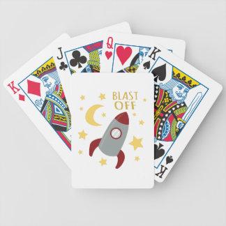Tryckvåg av spelkort