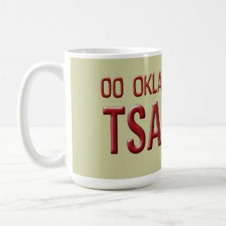 Tsa-La-Amerikansk soldat (Cherokee) Oklahoma Kaffemugg
