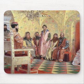 Tsar Mikhail Fyodorovich med Boyars Musmatta