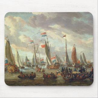 Tsar Peter mig som besöker England i Januari 1698 Mus Matta