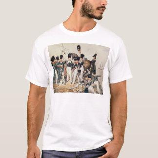 Tsarevich Alexander med hans Cadets på Tee Shirts