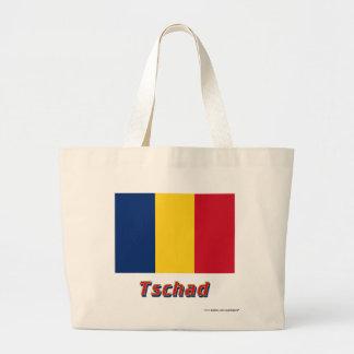 Tschad Flagge mit Namen Kassar
