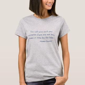 Tshirt - behålla som går, ögon på prisen tee