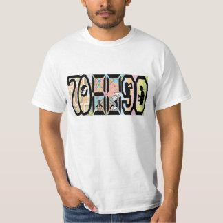 Tshirt för 70-tal80-tal90-tal t-shirts