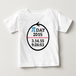 Tshirt för bebis för Pi-dag 2015 Tröja