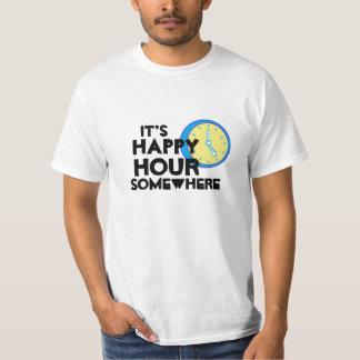 Tshirt för lycklig timme tee