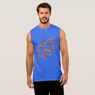 Tshirt för moln för Montana stads- och städerord Sleeveless T-shirts