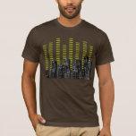tshirt för musikstadsdiagram t shirt