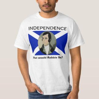 Tshirt för självständighet för Robert brännskador T Shirts