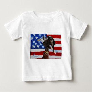 Tshirt för spädbarn för frihetsörnaceo t shirts