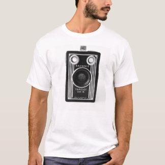 Tshirt för vintagekameraKodak stil T-shirts