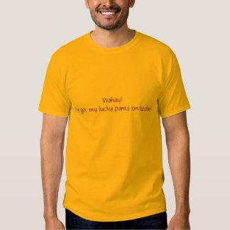 Tshirt - lycklig byxor! t-shirts