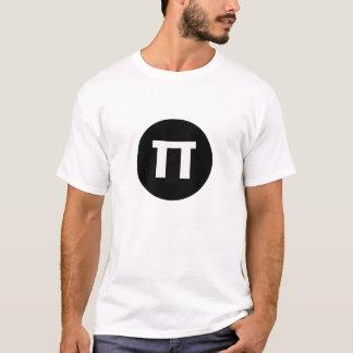 Tshirts för personlig för symbol för PI-dag 2015