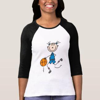 Tshirts och gåvor för blåttflickabasket