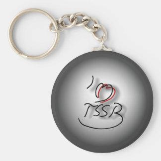 TSSB Keychain Rund Nyckelring