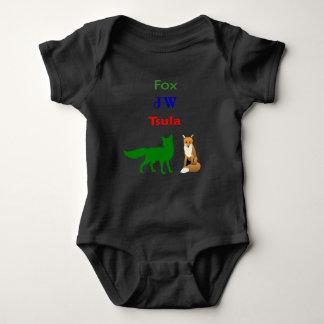 TSULA - Cherokee Bodysuit för rävdräktbaby Tee Shirts