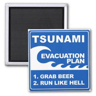 Tsunamievakueringen planerar magnet