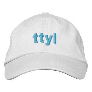 TTYL-lock Broderad Keps