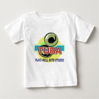 Tubalekar väller fram tee shirts