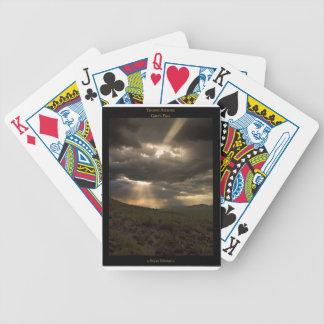 Tucson Arizona solnedgång som leker kort Spelkort