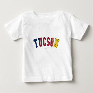 Tucson i Arizona statlig flaggafärger T-shirt