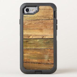 Tuff Look för lantligt Wood korn OtterBox Defender iPhone 7 Skal