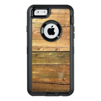 Tuff Look för lantligt Wood korn OtterBox iPhone 6/6s Fodral