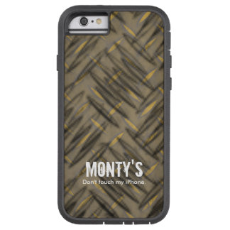 Tuffen Metall-tittar något typtelefonfodral Tough Xtreme iPhone 6 Case