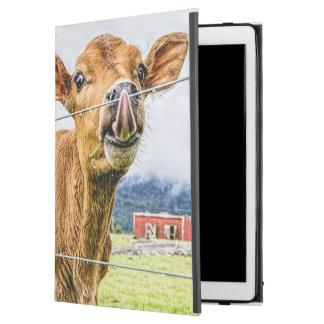 Tufft iPadfodral för nyfiken kalv