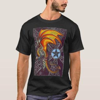 Tulekero Pagan drakeskjorta T Shirts