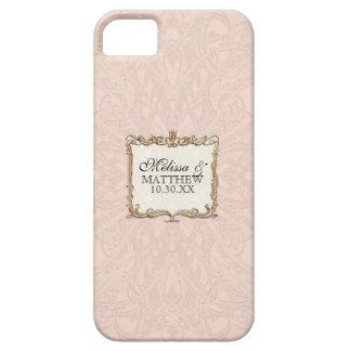 Tulpan för guld för Faux för Gatsby art iPhone 5 Fodraler