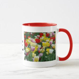 Tulpan från Holland, Springtime på Keukenhof Mugg