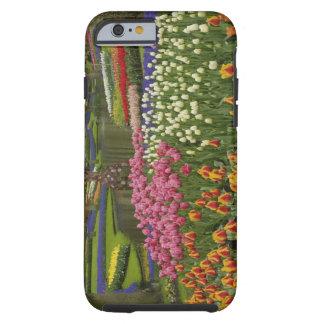 Tulpan- och hyacintträdgård, Keukenhof trädgårdar, Tough iPhone 6 Case