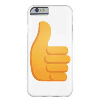 Tum Up Emoji Barely There iPhone 6 Fodral