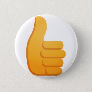 Tum Up Emoji Standard Knapp Rund 5.7 Cm