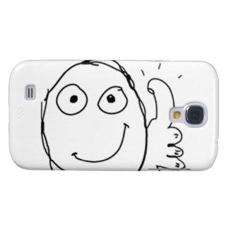 Tum upp tecknaden Meme. Galaxy S4 Fodral