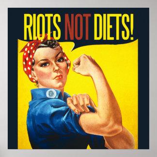 Tumultar inte bantar - vintagefeminism posters