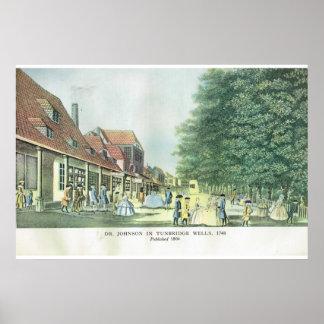 Tunbridge brunnar, 1748 poster