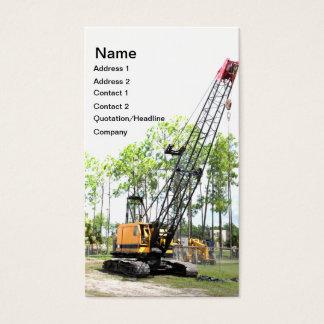 tung konstruktionskran visitkort