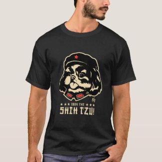 Tunga för ordförande SHIH-TZU T-shirt