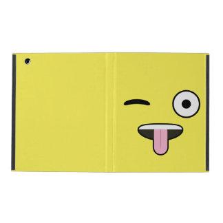 Tunga ut Emoji iPad Folio Skal